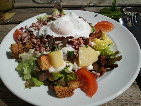 Brasserie La Gérômoise : salade vosgienne