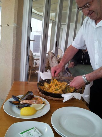 Cafeteria Marfil : Paella