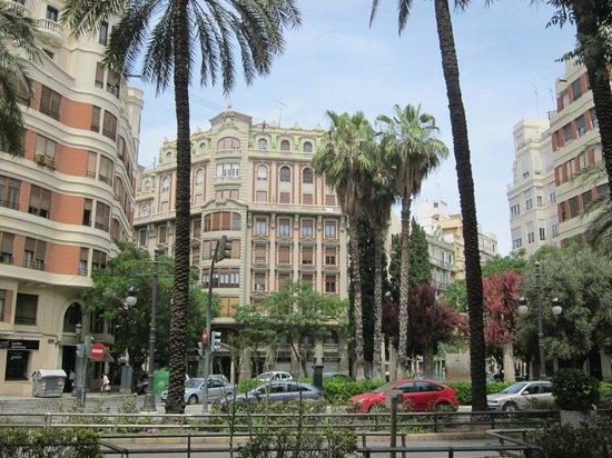 Valencia Center Hotel: Impressie centrum Valencia