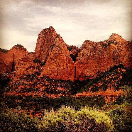 Kolob Canyons: Kolob canyon overlook