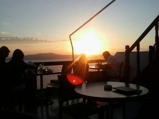 Select Cafe Restaurant: Sunset from select's balcony. ...