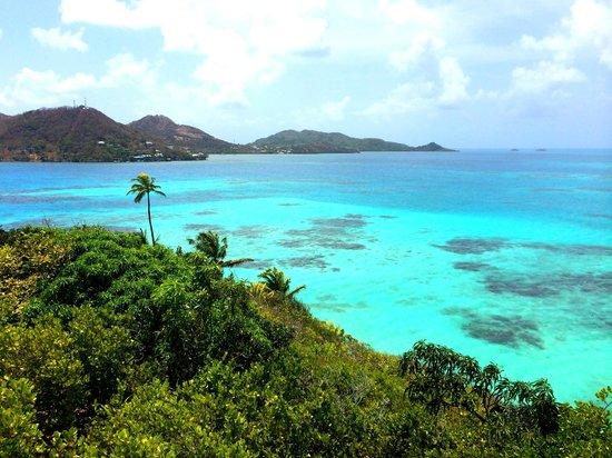 Crab Cay: No pico mais alto da ilha
