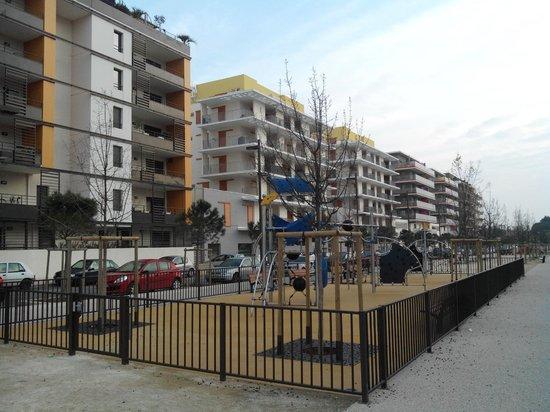 Apparteo Montpellier : autre vue du quartier