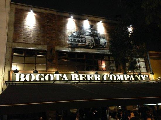 Bogota Beer Company: Fachada