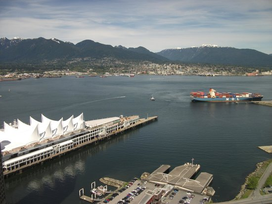 Vancouver Convention Centre: View taken from the Lookout