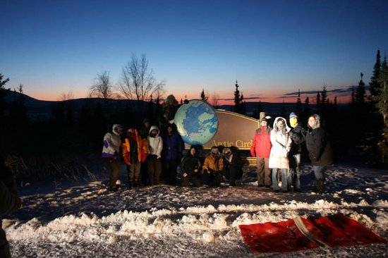 Northern Alaska Tour Company : Our Group!!