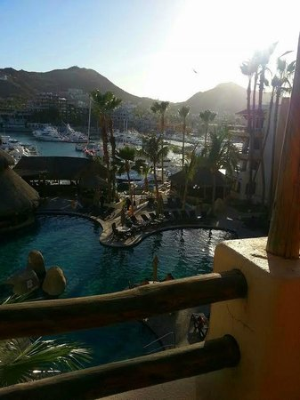 Marina Fiesta Resort & Spa: patio view...