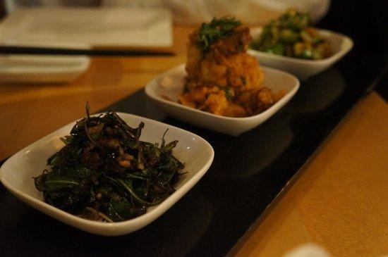 Sushi Ran: Vegetable tasting