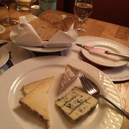 The Drawing Room: Cheese course