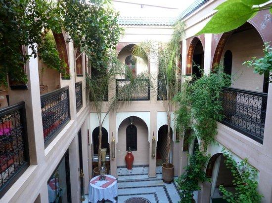 Riad Dar Anika : Courtyard