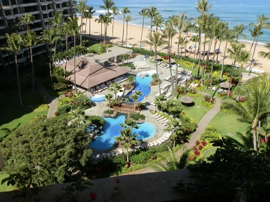 Kaanapali Alii: The view from the Lanai