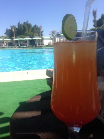 Ghazala Beach Hotel: Nice fruit drink called Florida. Better with fresh fruit juice and not just the juice.