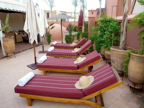 Riad Dar Anika : Roof Top Terrace