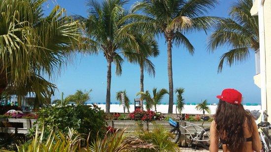 Outrigger Beach Resort : Bereich vom outigger hotel