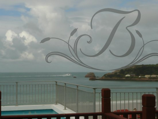 Biarritz Hotel : View from Room 214