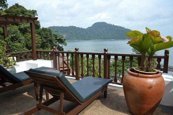 Pangkor Laut Resort: バルコニーからの眺め