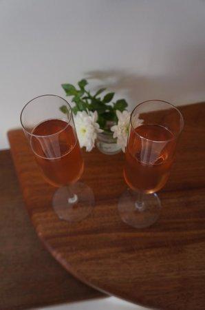 Perivolas: Welcome drinks
