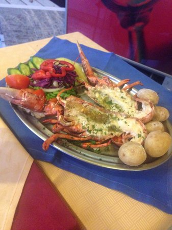 Grill Costa Mar : Lobster... Beautifully cooked