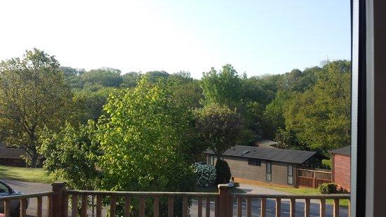 Haulfryn Finlake: lovely view from lodge