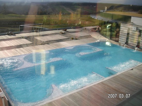 Reiters Supremehotel: Obere Poollandschaft - Therme (warm)