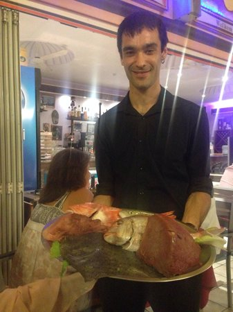 Grill Costa Mar : Fresh fish selection of the day