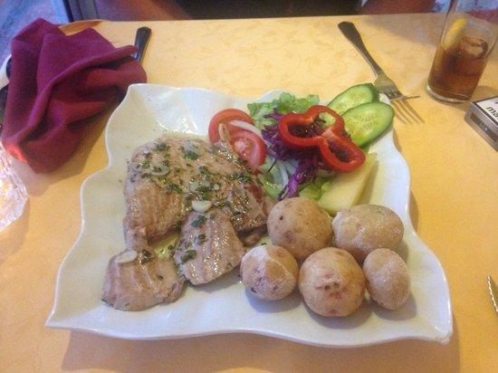 Grill Costa Mar: Fresh bigeye tuna!! Soo tasty