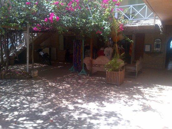 Bougainvilla Hotel: The lobby