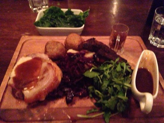 The Living Room   Leeds: Pig Board. Superb. Part 92