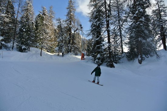Hotel Chesa Surlej: the home run - you can ski back to the hotel