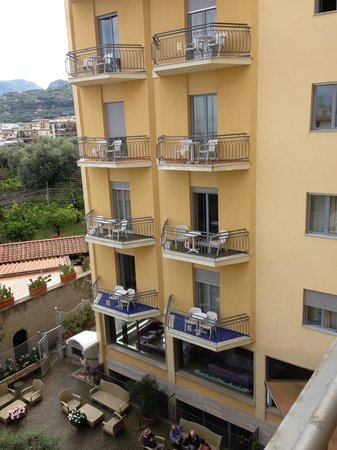 Conca Park Hotel: Sea view with balcony