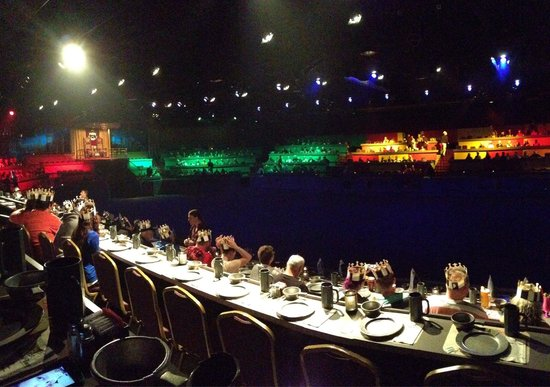 Medieval Times: The stadium....well what you can see!