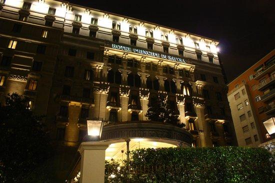 Hotel Principe Di Savoia : Facahda do hotel