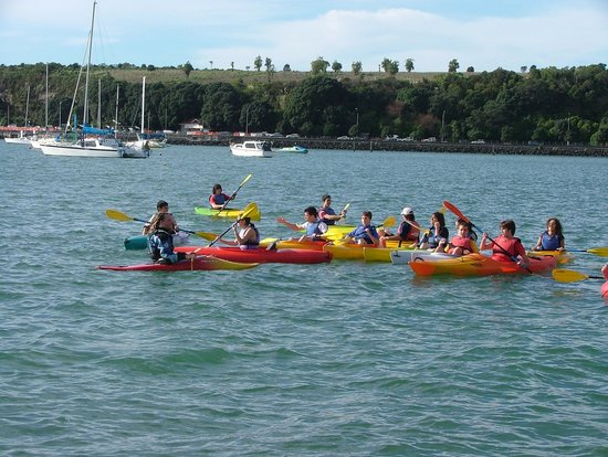 Fergs Kayaks Auckland - Water Sports Hire: Kids After School Kayaking