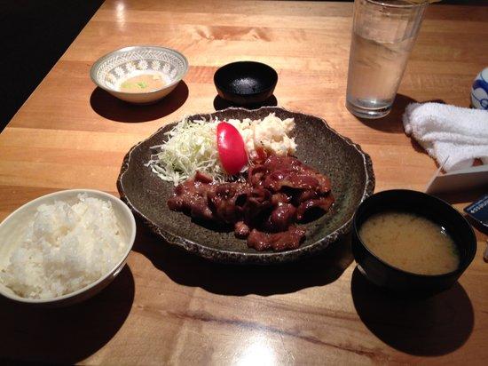 Miyoshi Japanese Restaurant: 今晩のディナー