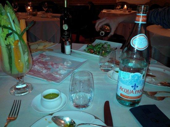 Taverna La Fenice : Pobre cena