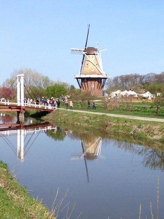 Windmill Island Gardens: windmill