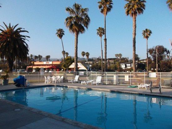 Motel 6 Ventura Beach: Pool area.