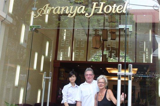 The Light Hotel Hanoi: Hotel entrance
