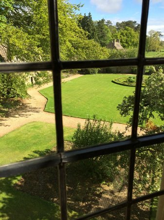 The Slaughters Manor House: View of the grounds from communal areas
