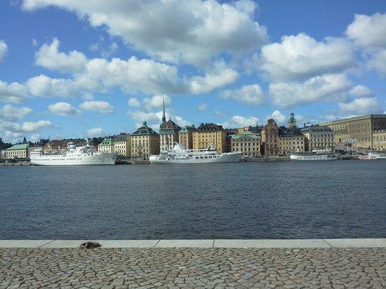 Skeppsholmen : vista panoramica
