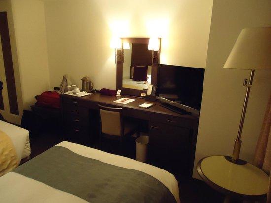 Kumamoto Hotel Castle : Vista do quarto