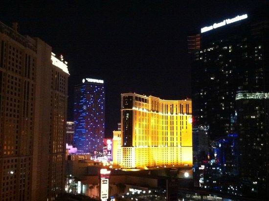 Signature at MGM Grand: View from Balcony 1