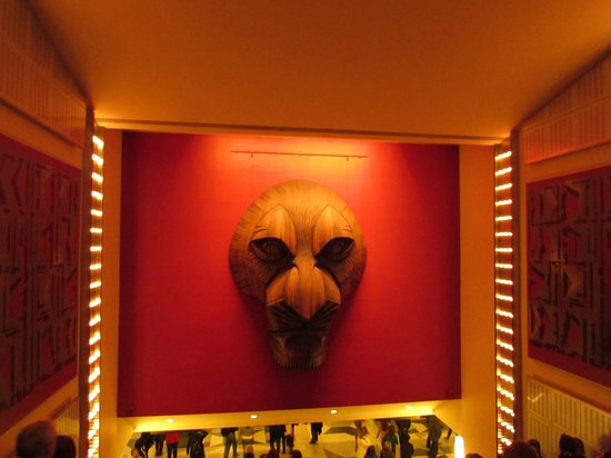 The Lion King: Artwork as we left the show