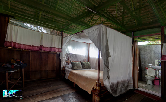 Amazonia Expeditions' Tahuayo Lodge: Bedroom view