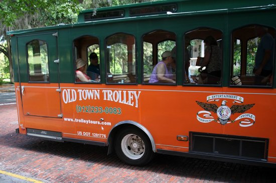 Old Town Trolley Tours of Savannah : Old Town Trolley Tours