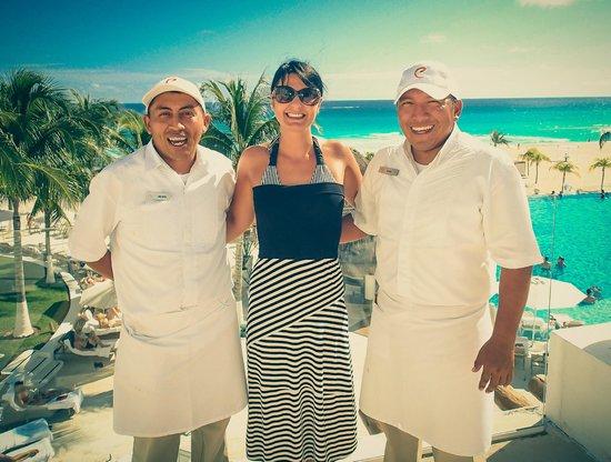 Le Blanc Spa Resort: Rafael and Jacinto