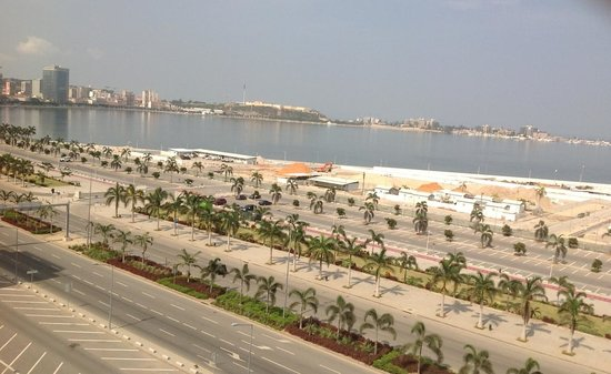 Hotel Presidente Luanda: Vista do terraço do Hotel para a Baía de Luanda