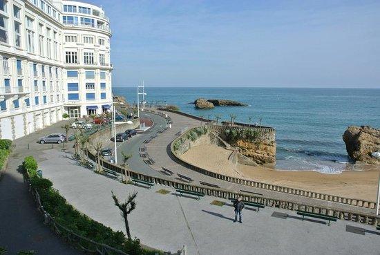 la baie de biarritz bild von c te des basques biarritz tripadvisor. Black Bedroom Furniture Sets. Home Design Ideas