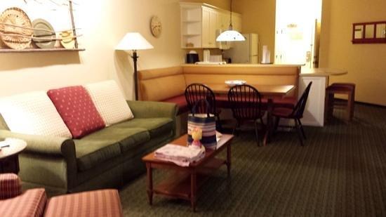 Marriott's Willow Ridge Lodge: large rooms