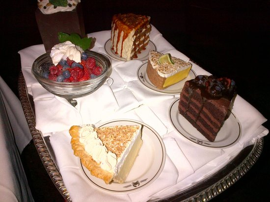 Truluck's Steak & Stone Crab : Incredible dessert tray